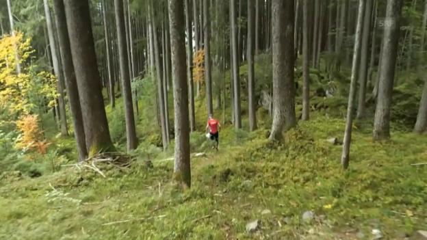 Video «Kyburz läuft in eigener Liga» abspielen
