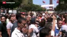 Video «Erneut politischer Mord in Tunesien» abspielen