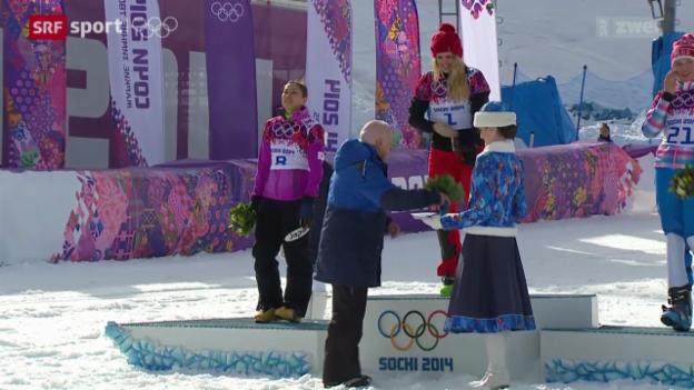Video «Snowboard: Parallel-Riesenslalom Frauen» abspielen