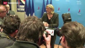 Video «Wahlerfolge für Rechtsextreme in Frankreich» abspielen