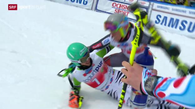 Video «Ski: Weltcup-Final, Riesenslalom Männer» abspielen