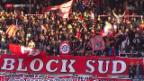 Video «Fussball: Super League, Zusammenfassung Thun - Luzern» abspielen