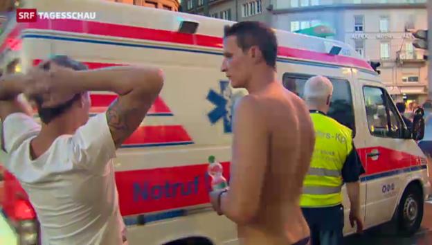 Video «Street Parade: Sanitäter hatten alle Hände voll zu tun» abspielen