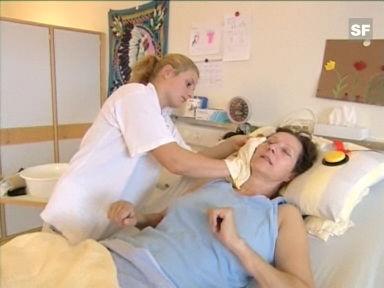 Video «Berufsbild: Fachfrau Gesundheit EFZ» abspielen