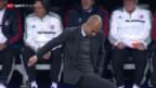 Video «Fussball: Der Tag nach dem CL-Schlager Real-Bayern» abspielen