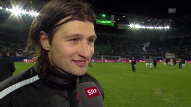 Video «Fussball: Interview mit Salatic» abspielen