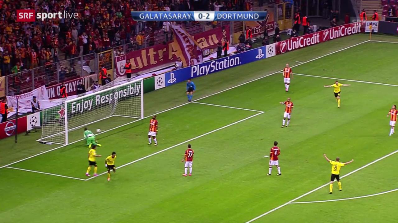 Fussball: CL, Galatasaray - Dortmund