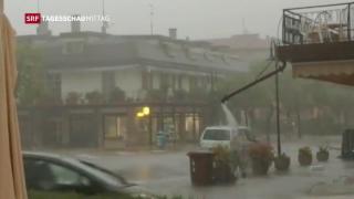 Video «Unwetter in Italien» abspielen