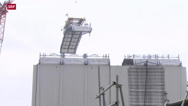 Video «Fukushimas Reaktor 1 wird demontiert» abspielen