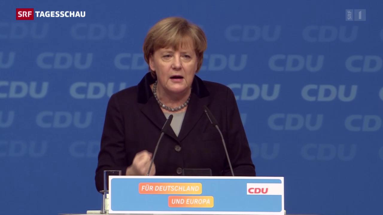 Merkel überzeugt ihre Partei