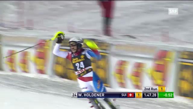 Ski: 2. Lauf Holdener