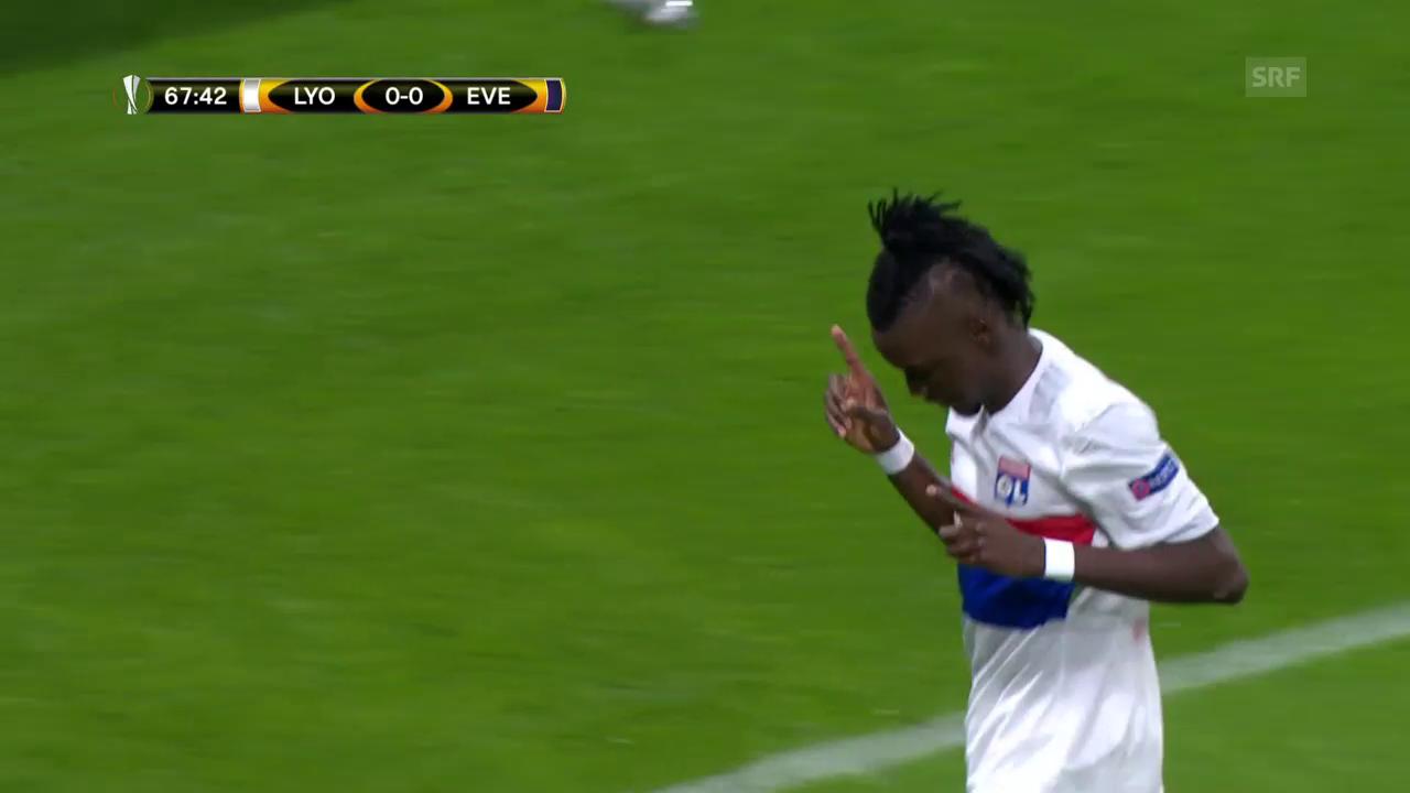 Everton verliert in Lyon mit 0:3