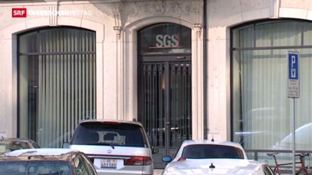 Video «Warenprüfer SGS wächst und wächst» abspielen