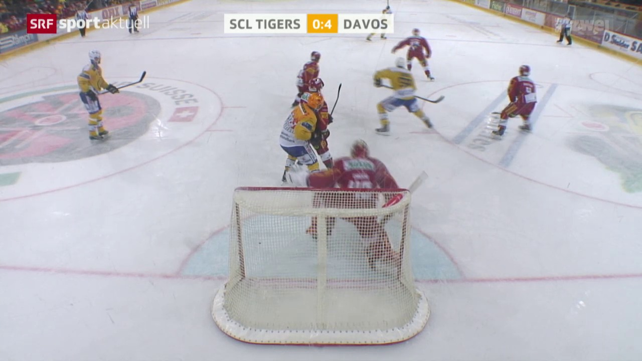 Eishockey: SCL Tigers - HC Davos