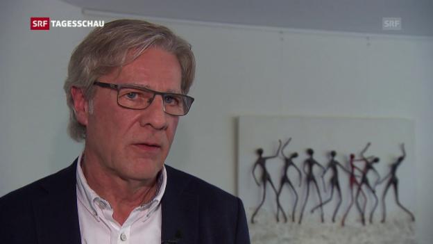 Video «Einschätzung von Pensionskassenvertreter Jean Wey» abspielen