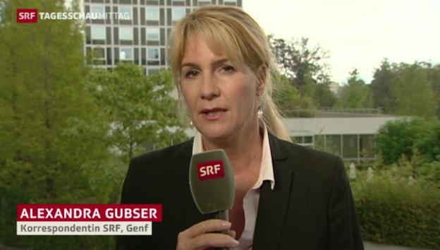 Video «SRF-Korrespondentin Alexandra Gubser zum Kerry-Lawrow-Treffen» abspielen
