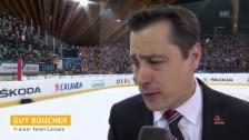 Video «Eishockey: Spengler Cup, Final, Interview Guy Boucher» abspielen