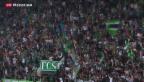 Video «St. Gallen gewinnt 2:1 gegen Luzern» abspielen