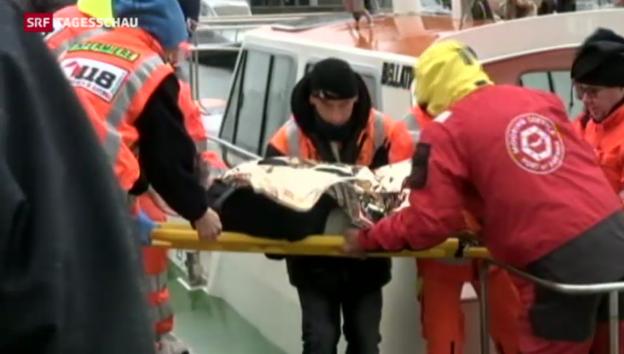 Video «Tote nach Tanker-Unglück bei Ravenna» abspielen