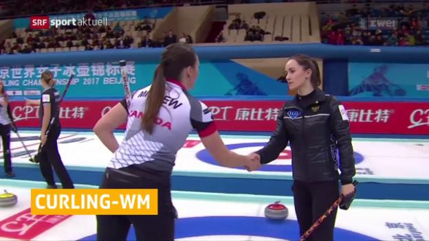 Video «Kanadierinnen holen Curling-Gold» abspielen