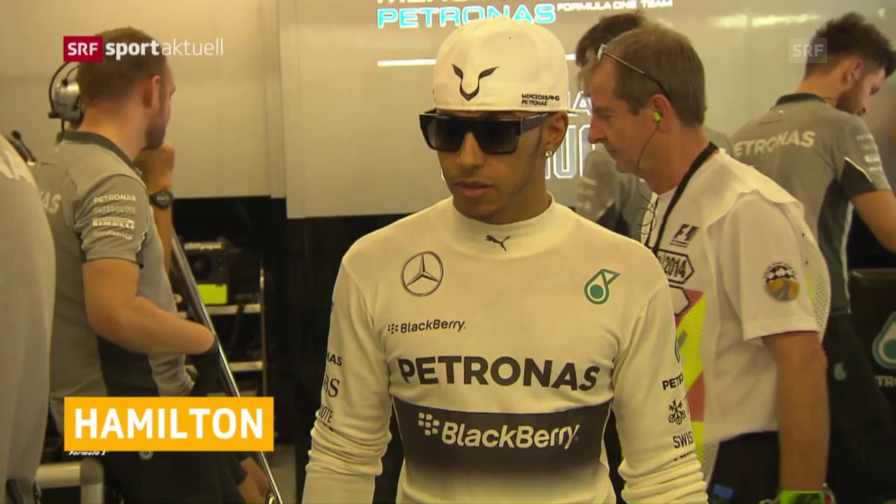 Schlechte Ausgangslage für Hamilton in Belgien