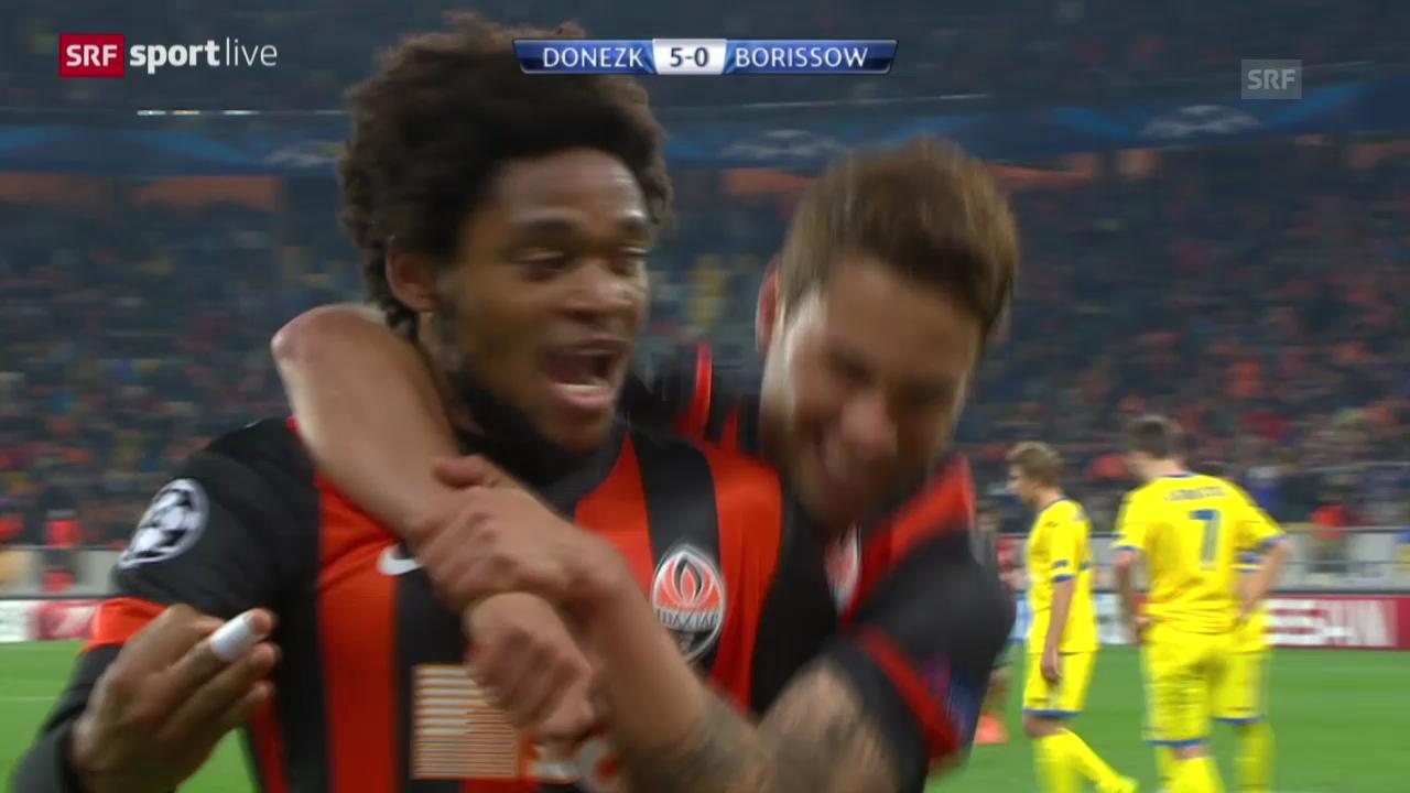 Fussball: Schachtar Donezk - BATE Borissow