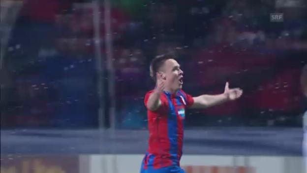Video «Fussball: Pilsen-Napoli» abspielen