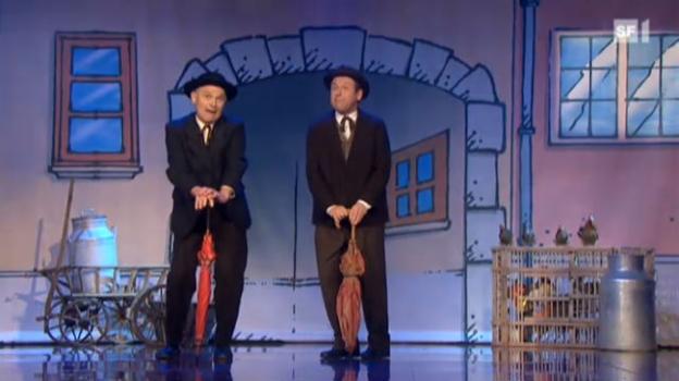 Video «Starduett: «Die kleine Niederdorfoper»» abspielen