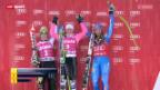 Video «Ski: Super-G Frauen in Cortina» abspielen
