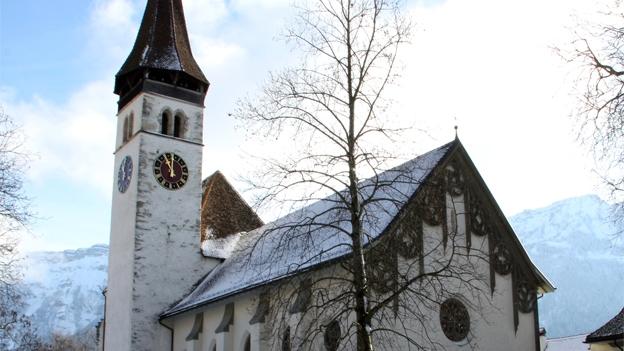 Glockengeläut der Schlosskirche in Interlaken