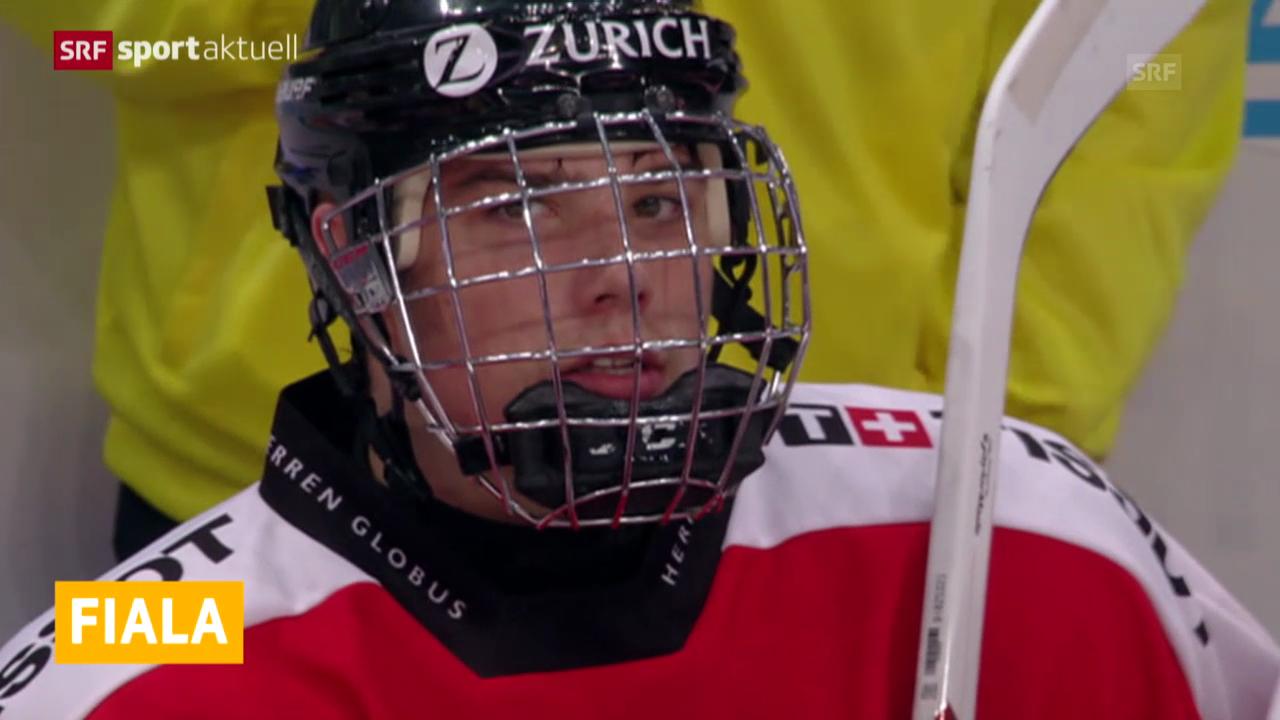 Eishockey: Fiala unterschreibt für 3 Jahre («sportaktuell»)