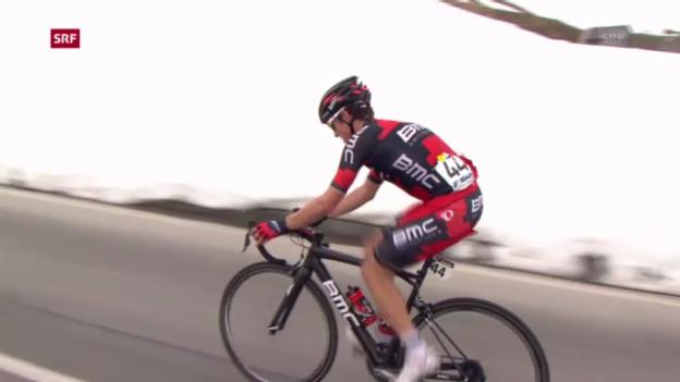 Video «Österreich-Rundfahrt: Frank gewinnt Königsetappe («sportaktuell»)» abspielen