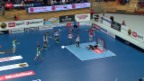 Video «Unihockey: Die Superfinals in Kloten» abspielen