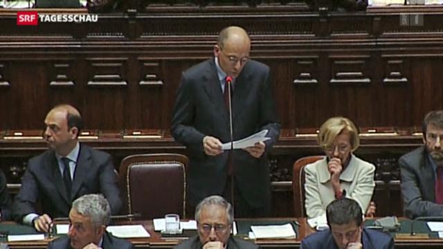 Regierungsprogramm in Italien