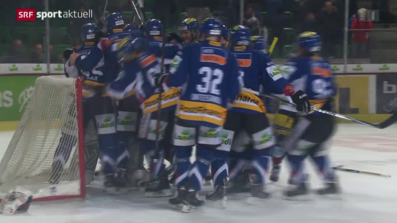 Eishockey: NLA, Biel - Lausanne