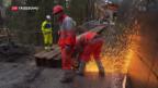 Video «Hauptstrasse nach Adelboden immer noch gesperrt» abspielen