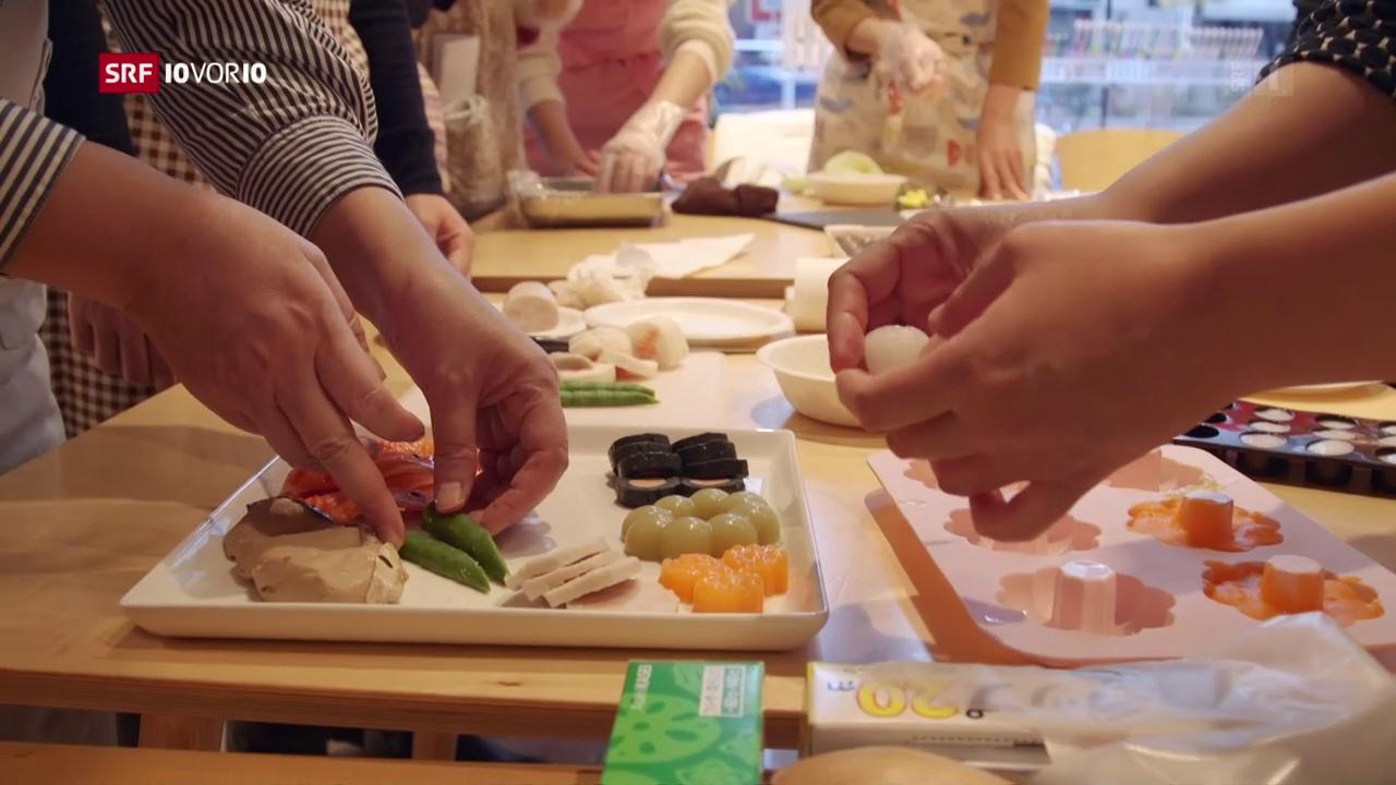 «Das Menü von morgen»: Gedruckter Fisch und Enzym-Karotten
