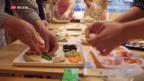 Video ««Das Menü von morgen»: Gedruckter Fisch und Enzym-Karotten» abspielen