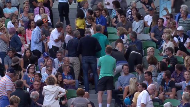Video «Zwischenfall bei Ivanovic-Keys» abspielen