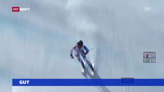 Ski alpin: Training der Frauen auf der Lenzerheide («sportaktuell»)