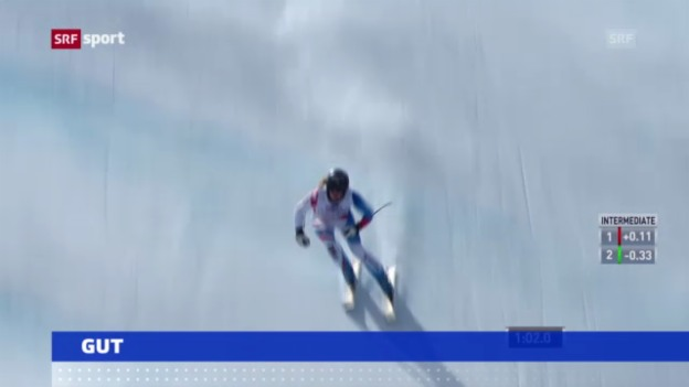 Video «Ski alpin: Training der Frauen auf der Lenzerheide («sportaktuell»)» abspielen