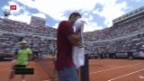 Video «Federer scheitert an Thiem» abspielen