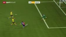 Video «Fussball: YB - Basel» abspielen