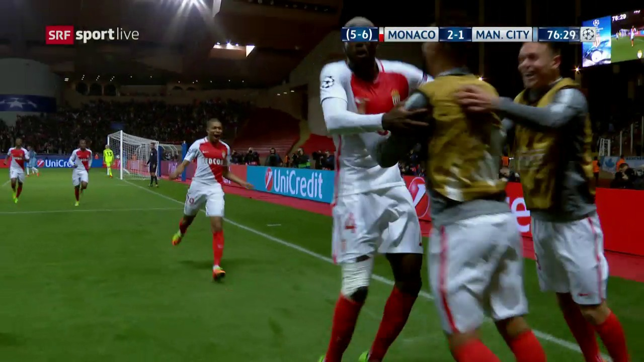 Monaco bedeutet für Manchester City Endstation