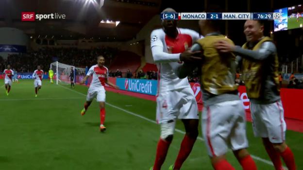 Video «Monaco bedeutet für Manchester City Endstation» abspielen