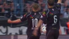 Video «Doppelpack: Lugano sorgt früh für klare Verhältnisse» abspielen