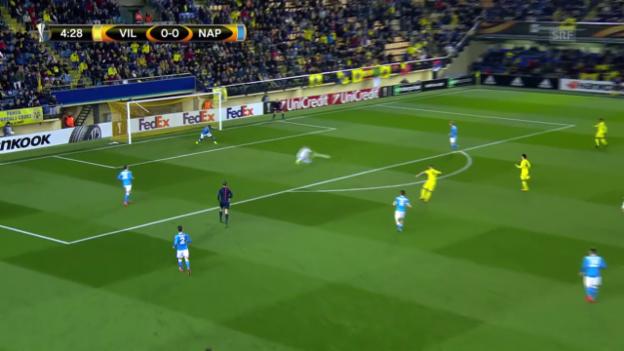 Video «EL: Villarreal-Napoli» abspielen