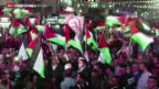 Video «Palästina Flagge auf UNO-Gelände» abspielen