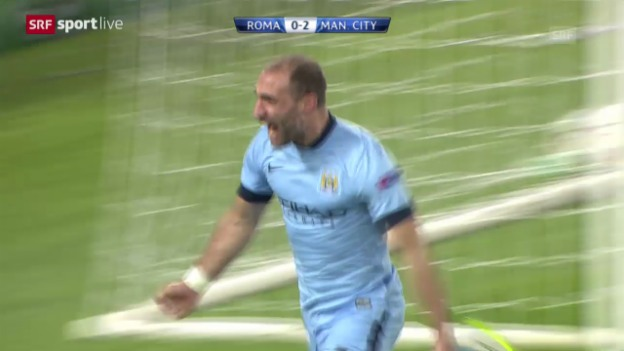 Video «Fussball: CL, AS Roma-Manchester City» abspielen