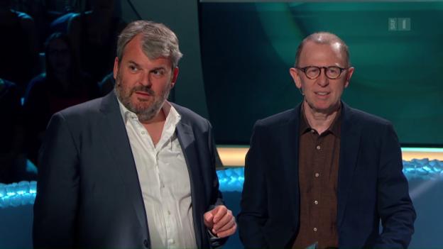 Video «Die 150. Sendung» mit Viktor Giacobbo und Mike Müller» abspielen